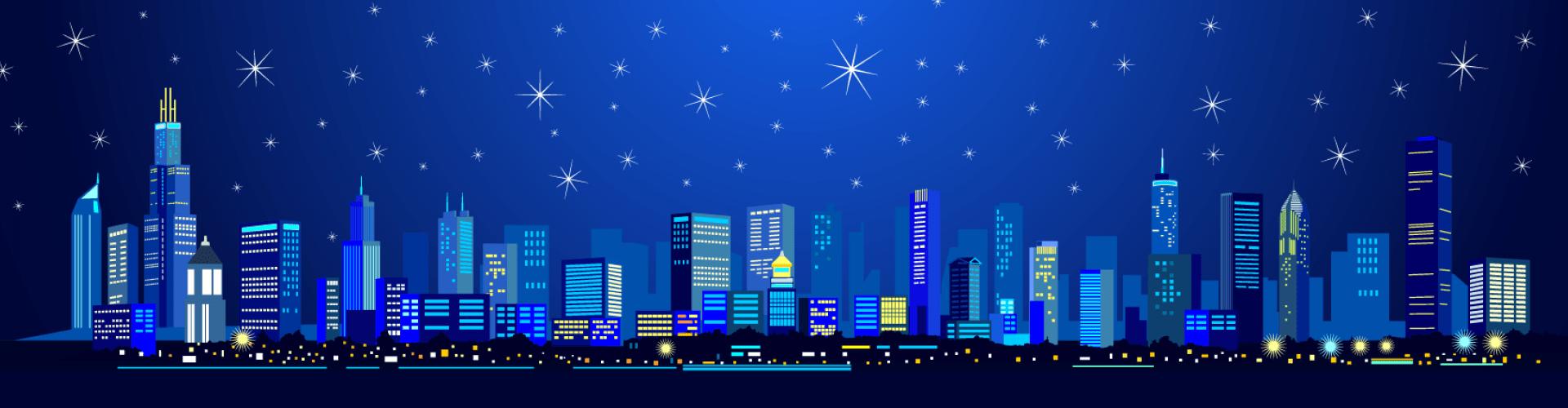image - ville de nuit